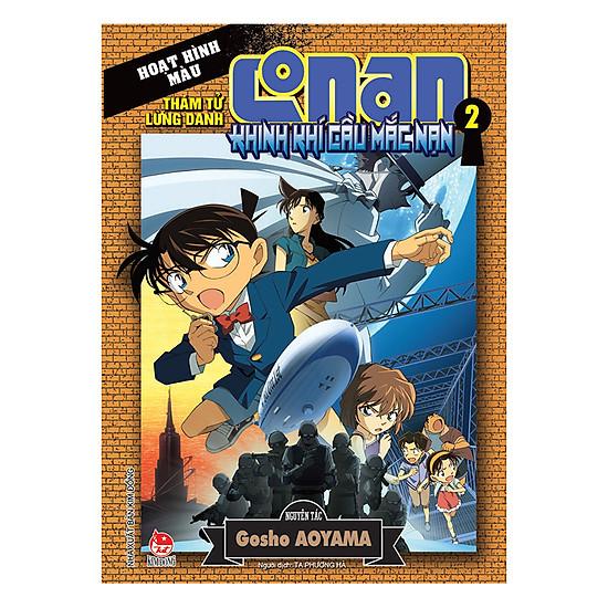 Thám Tử Lừng Danh Conan Hoạt Hình Màu - Khinh Khí Cầu Mắc Nạn (Tập 2)