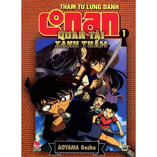 [Download Sách] Thám Tử Lừng Danh Conan (Tập 1) - Quan Tài Xanh Thẳm