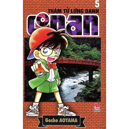 Thám Tử Lừng Danh Conan Tập 5 (Tái Bản 2014)