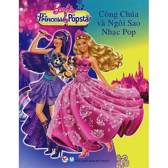 [Download Sách] Truyện Tranh Công Chúa Barbie - Công Chúa Và Ngôi Sao Nhạc Pop