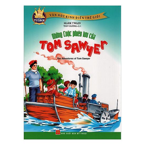[Download sách] Những Cuộc Phiêu Lưu Của Tom Sawyer (Truyện Tranh) - Tái Bản
