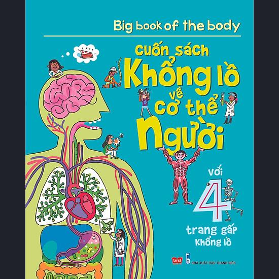 Big Book Of The Body – Cuốn Sách Khổng Lồ Về Cơ Thể Người