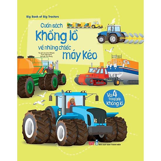 Big Book Of Big Tractors – Cuốn Sách Khổng Lồ Về Những Chiếc Máy Kéo
