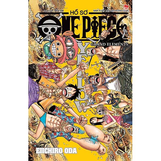 Hồ Sơ One Piece Yellow (Kèm 06 Trang Màu Rực Rỡ)