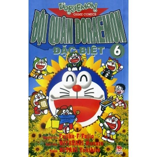 Hình ảnh download sách Đội Quân Doraemon Đặc Biệt (Tập 6)