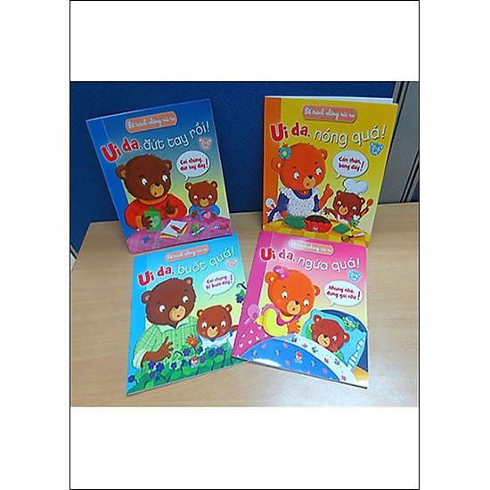 Hình ảnh download sách Combo Để Tránh Những Rủi Ro ( Trọn Bộ 4 Cuốn)