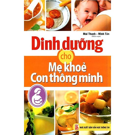 [Download sách] Dinh Dưỡng Cho Mẹ Khỏe Con Thông Minh