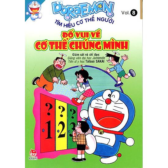 [Download sách] Doraemon Tìm Hiểu Cơ Thể Người - Đố Vui Về Cơ Thể Chúng Mình