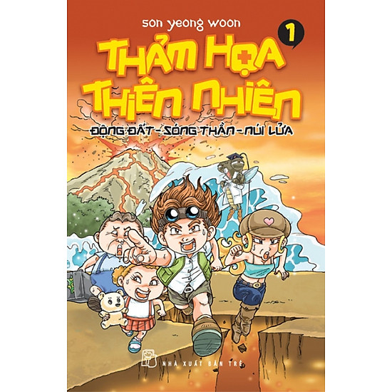Thảm Họa Thiên Nhiên - Tập 1: Động Đất, Sóng Thần, Núi Lửa ...