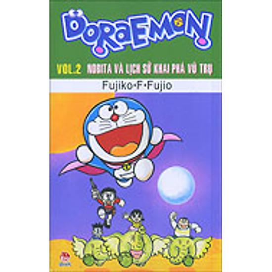 Doraemon - Truyện Dài - Tập 2 - Nobita Và Lịch Sử Khai Phá Vũ Trụ (2014)