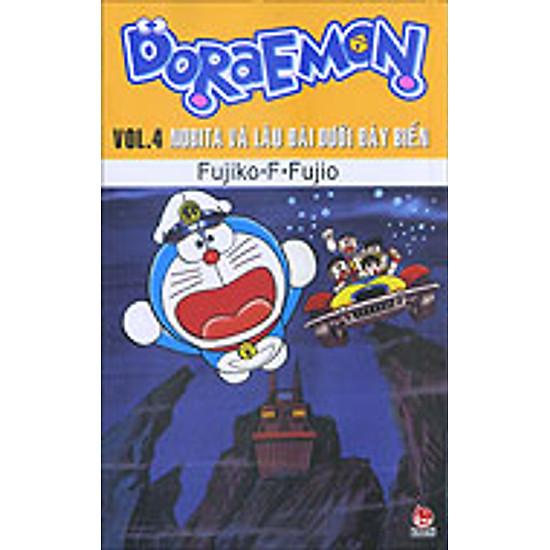 Doraemon  - Truyện Dài - Tập 4 - Nobita Và Lâu Đài Dưới Đáy Biển (2014)