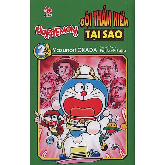 Doraemon - Đội Thám Hiểm Tại Sao - Tập 2
