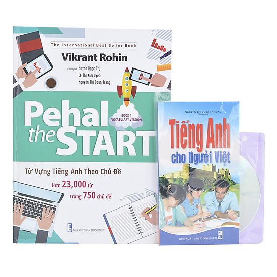[Download Sách] Combo Pehal The Start - Từ Vựng Tiếng Anh Theo Chủ Đề (Tặng Sách Tiếng Anh Cho Người Việt + CD)