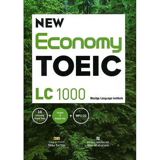 Download sách New Economy TOEIC LC 1000 (Kèm CD)
