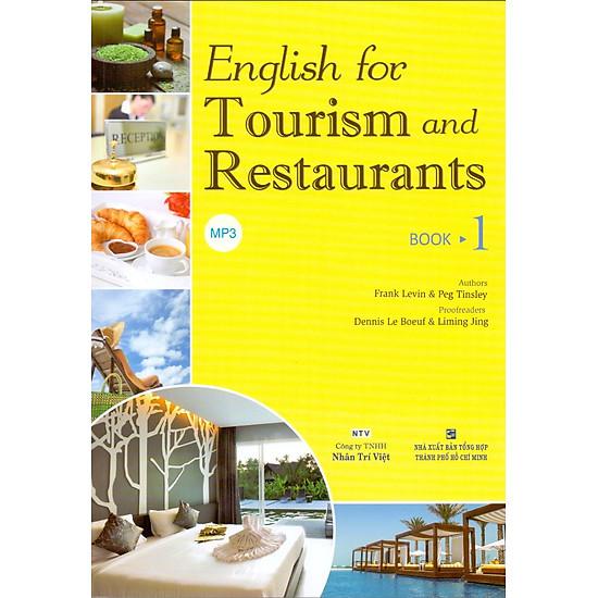 English For Tourism And Restaurants – Book 1 (Kèm Đĩa MP3)