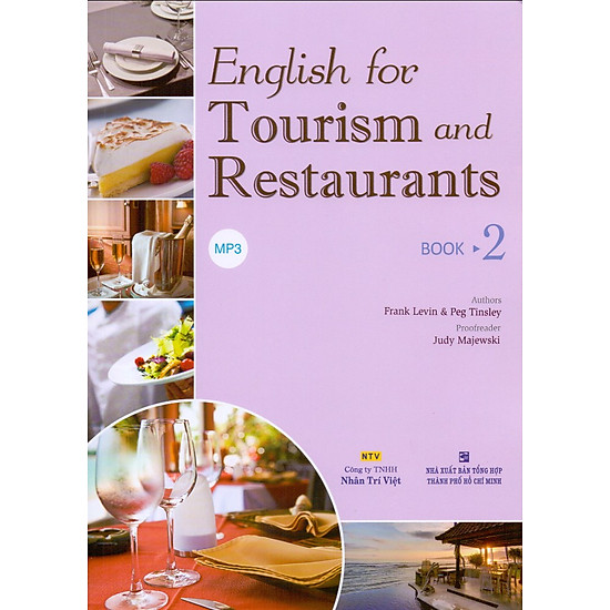 English For Tourism And Restaurants – Book 2 (Kèm Đĩa MP3)