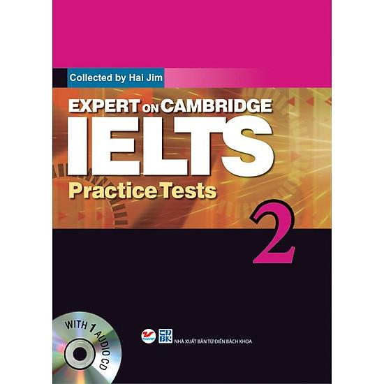 Hình ảnh download sách Expert On Cambridge IELTS Practice Tests 2 (Kèm CD)