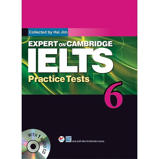 Expert On Cambridge IELTS Practice Tests 6 (Kèm CD)