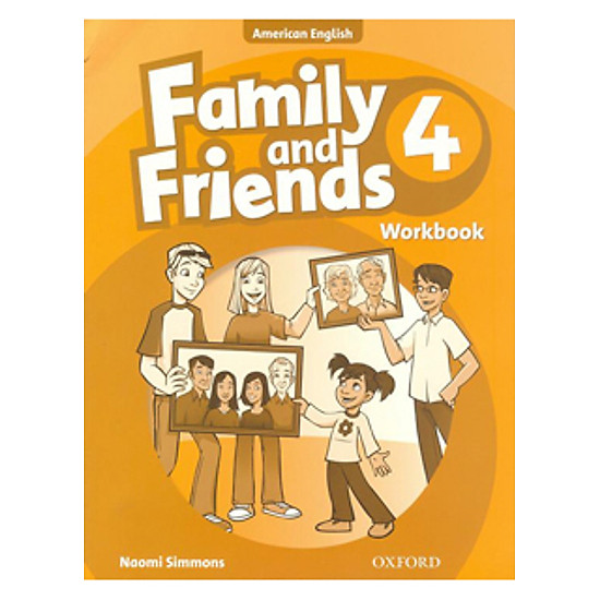Family And Friends (AME) 4: Workbook