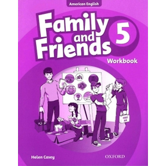 Family And Friends American (Edition 5): Workbook