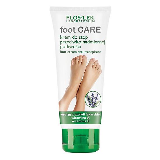 Kem Diệt Khuẩn, Chống Mùi Hôi Và Dưỡng Da Chân Floslek Anti Perspirant Foot Cream MF043 (100ml)
