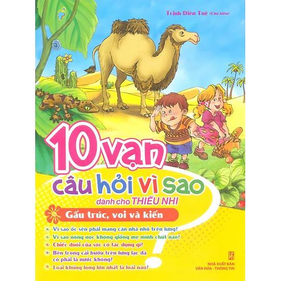 [Download Sách] 10 Vạn Câu Hỏi Vì Sao - Gấu Trúc, Voi & Kiến