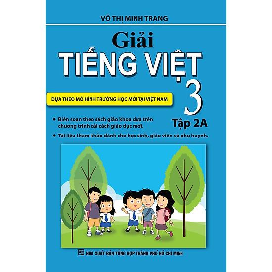 Giải Tiếng Việt Lớp 3 (Tập 2A)