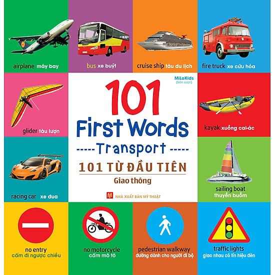 101 First Words – Transport (101 Từ Đầu Tiên – Giao Thông)