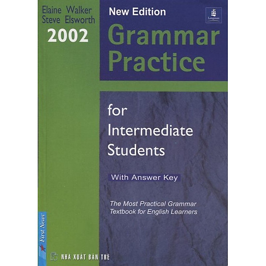 Grammar Practice For Intermediate Students (With Answer Key)