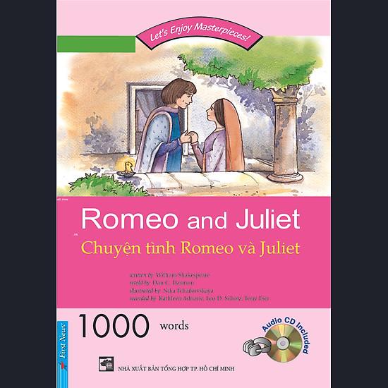 [Download Sách] Happy Reader - Chuyện Tình Romeo & Juliet +1CD