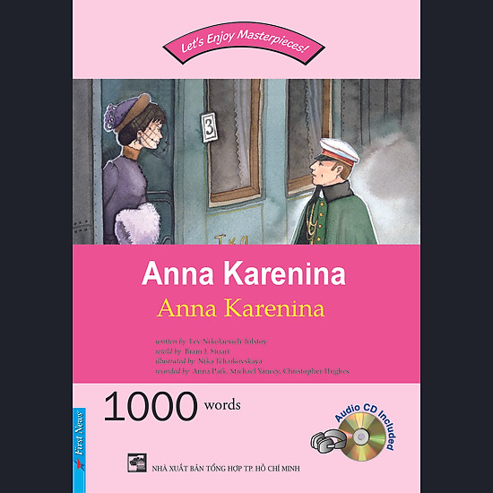 [Download Sách] Happy Reader - Anna Karenina (Kèm CD)