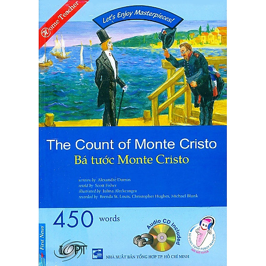 [Download sách] Happy Reader - Bá Tước Monte Cristo - Kèm 1 CD