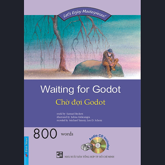 [Download Sách] Happy Reader - Chờ Đợi Godot (Kèm 2 CD)
