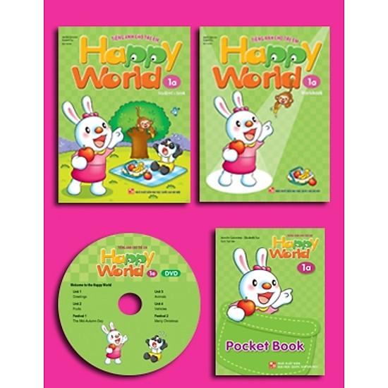 Happy World – Tiếng Anh Cho Trẻ Em – Bộ 1a