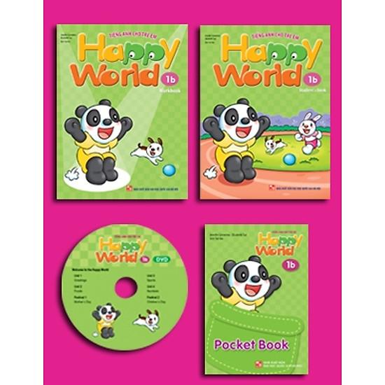 Happy World – Tiếng Anh Cho Trẻ Em – Bộ 1b