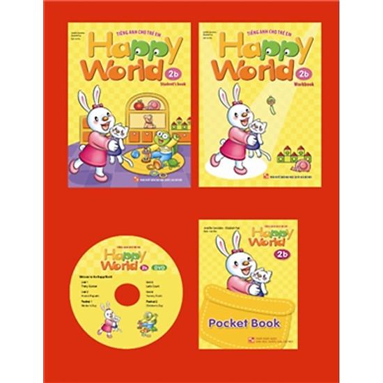 Happy World – Tiếng Anh Cho Trẻ Em – Bộ 2b