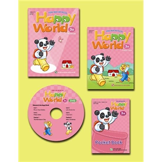 Happy World – Tiếng Anh Cho Trẻ Em – Bộ 3a