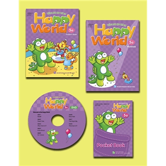 Happy World – Tiếng Anh Cho Trẻ Em – Bộ 5a