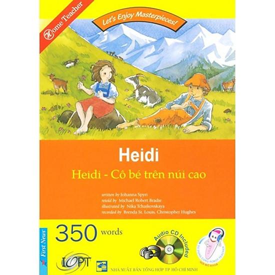 [Download Sách] Happy Reader - Cô Bé Trên Núi Cao - Kèm 1 CD