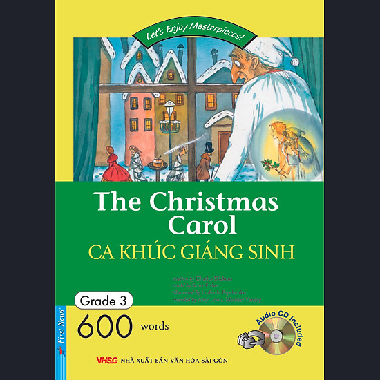 The Christmas Carol - Ca Khúc Giáng Sinh (Kèm CD - Tái Bản 2014)