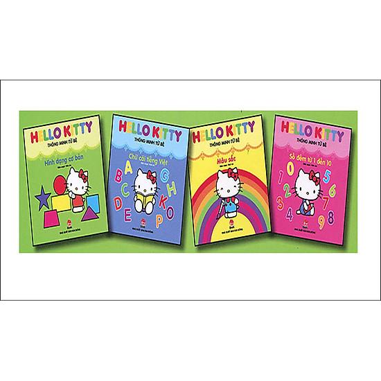 [Download Sách] Hello Kitty Thông Minh Từ Bé (Trọn Bộ 4 Tập)