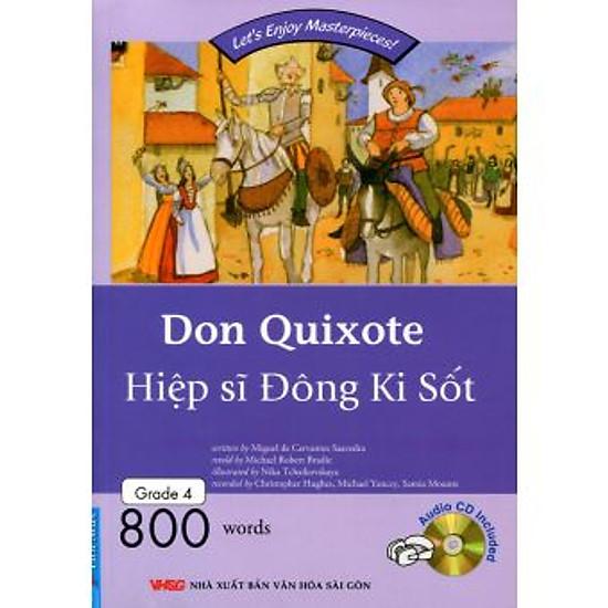 [Download Sách] Happy Reader - Hiệp sĩ Đông Ki Sốt - Kèm 1 CD