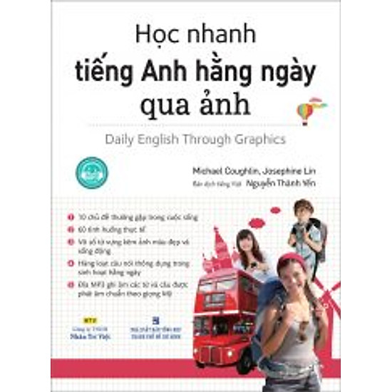 Học Nhanh Tiếng Anh Hằng Ngày Qua Ảnh (Kèm Đĩa MP3)
