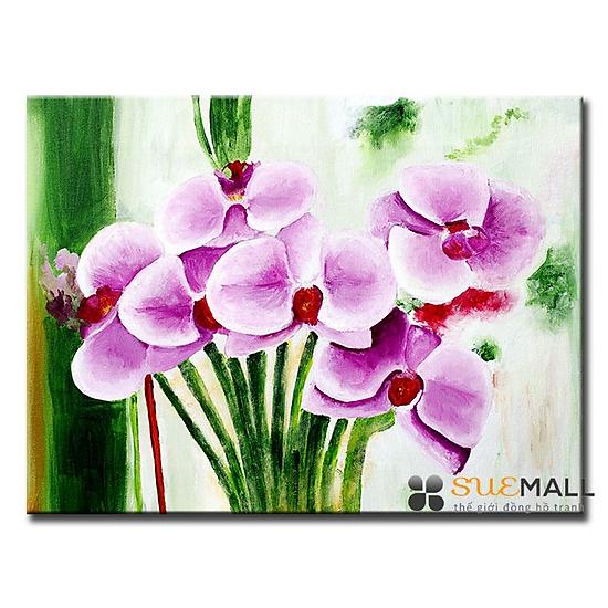 Tranh Treo Tường Canvas Suemall CV140897 - Hoa Đồng Tiền Hồng Thắm ...