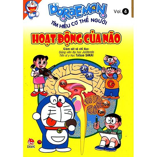 [Download sách] Doraemon Tìm Hiểu Cơ Thể Người - Hoạt Động Của Não