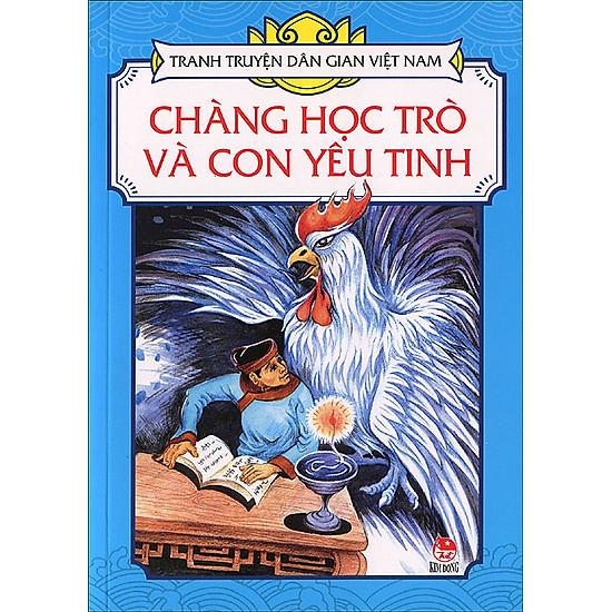 Tranh Truyện Dân Gian Việt Nam – Chàng Học Trò Và Con Yêu Tinh