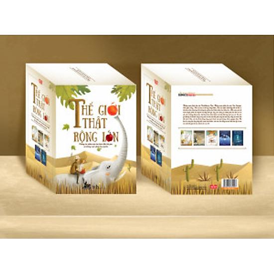 Hộp Sách: Thế Giới Thật Rộng Lớn