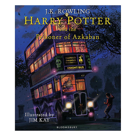 [Download Sách] Harry Potter And The Prisoner Of Azkaban: Illustrated Edition
