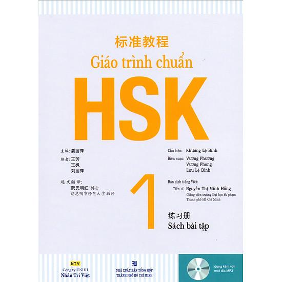 Giáo Trình Chuẩn HSK 1 – Bài Tập (Kèm 1 Đĩa MP3)