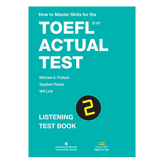 [Download sách] How To Master Skills For The TOEFL iBT Actual Test: Listening Test Book 2 (With Audio CD)